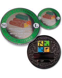 50 Hides Geo Achievement® Award Coin Set