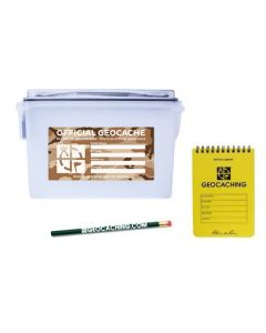 Official Ammo Can Kit with Logbook and Pencil Kit - Desert Camo