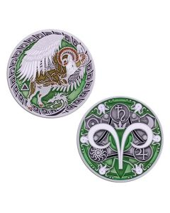 Zodiac Geocoin- Aries-  Last Chance!!!