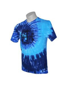 Cache Attack Tie Dye Tee- Ocean-  Last Chance!!!  (Size Medium and Large)