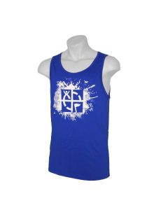 Cache Attack Tank Top- Royal Blue