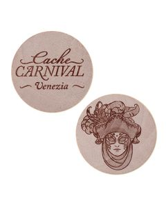 Cache Carnival Wooden Nickel SWAG Coin- Venezia