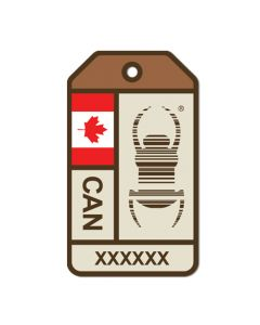 Travel Bug® Origins Sticker-  Canada
