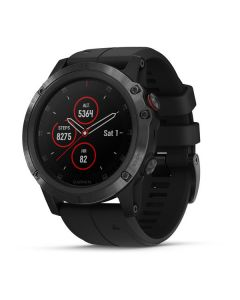 Garmin fēnix® 5X Plus- Sapphire, Black with Black Band