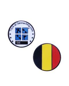 Country Micro Geocoin- Belgium