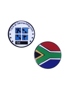 Country Micro Geocoin- South Africa