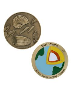 2018 EarthCache™ Geocoin and tag set