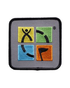 Geocaching Patch- Four Color