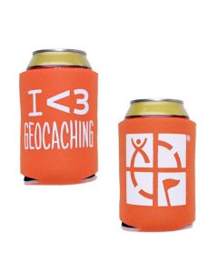 Geocaching Coozy- Orange