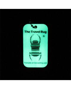 Geocaching QR Travel Bug® - Glow in the Dark