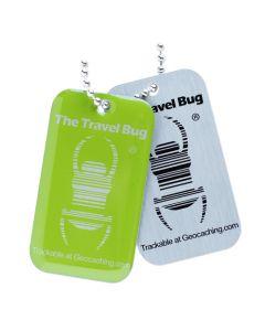 Travel Bug QR Tag - Green