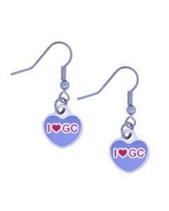 """I Heart GC"" Trackable Earrings"
