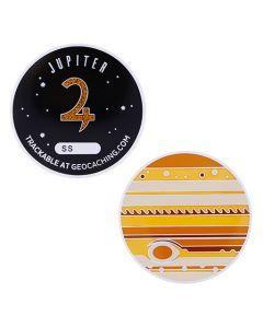 Solar System XL Geocoin- Jupiter