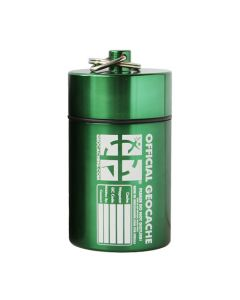 Small Cylinder Geocache- Green
