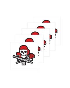 Pirate Temporary Tattoos (5 Pack)- The Lost Treasure of Mary Hyde