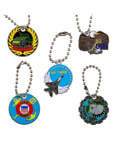 Military Travel Tag Set- All 5