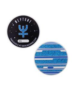 Solar System Geocoin- Neptune
