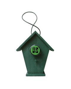Small Birdhouse Geocache Container- Chalet