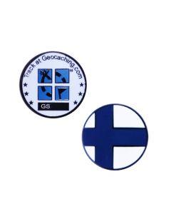 Country Micro Geocoin- Finland