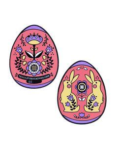 2019 Egg Geocoin- Pink