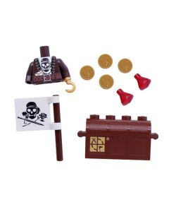 "Pirate Torso and Accessory Kit for 2"" Figures"