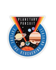 Planetary Pursuit Sticker