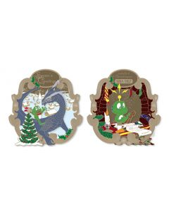 2018 Signal the Frog® Holiday Geocoin - Antique Bronze-  Coming Soon!