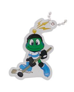 Hockey- Signal the Frog® Winter Sports Travel Tag