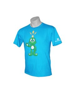 Youth Signal the Frog® T-Shirt- Caribbean Blue