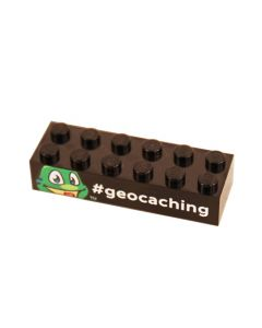 Signal the Frog® Trackable Brick- Black-  Last Chance!!!