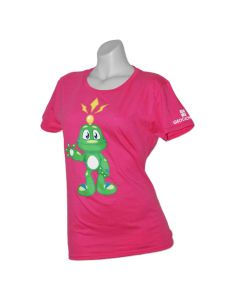 Ladies Signal the Frog® T-Shirt- Pink