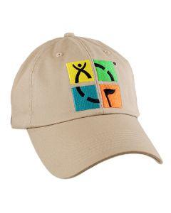 Geocaching Logo Cap- Khaki
