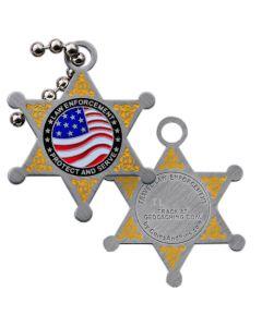 Law Enforcement Travel Tag