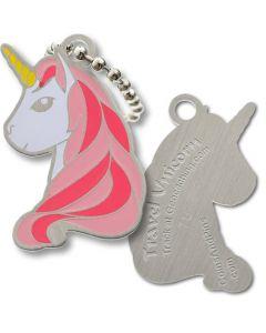 Unicorn Travel Tag