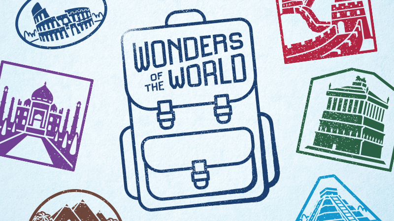 Wonders of the World Merchandise Collection